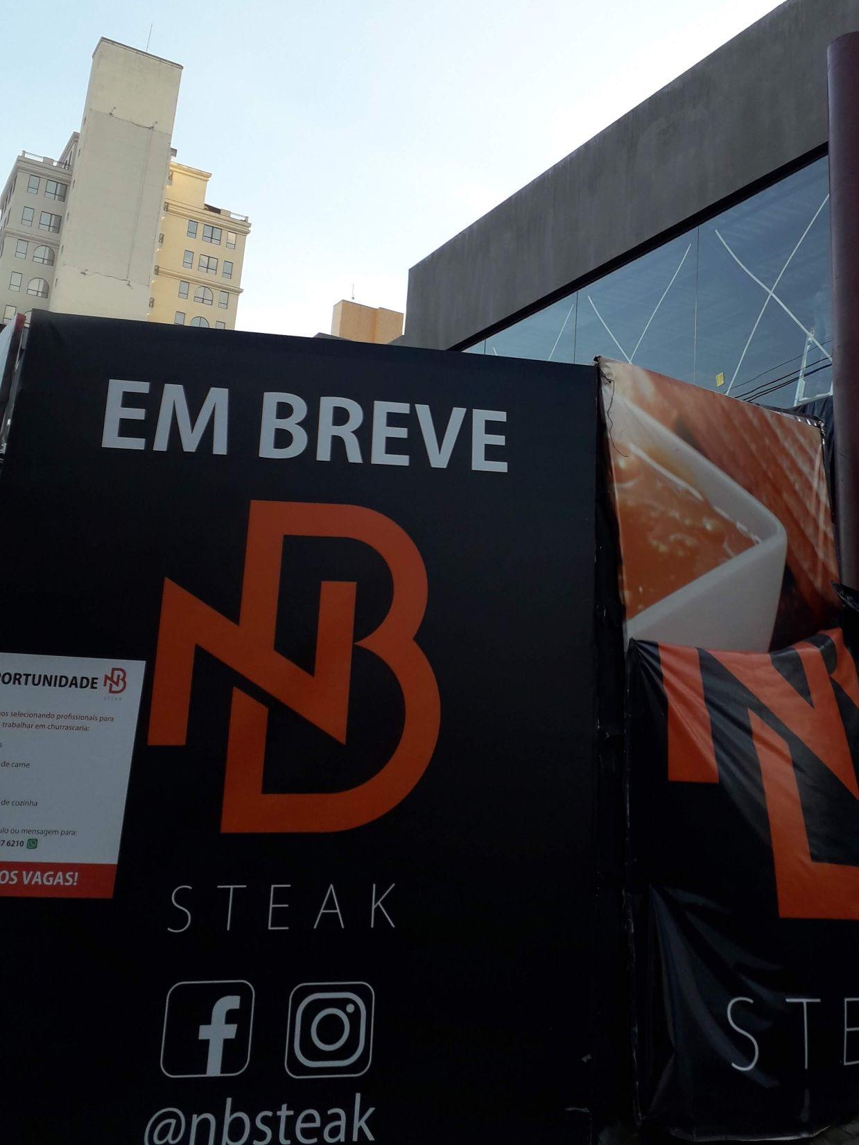 NB Steak Campinas projeto Rede e Câmeras.