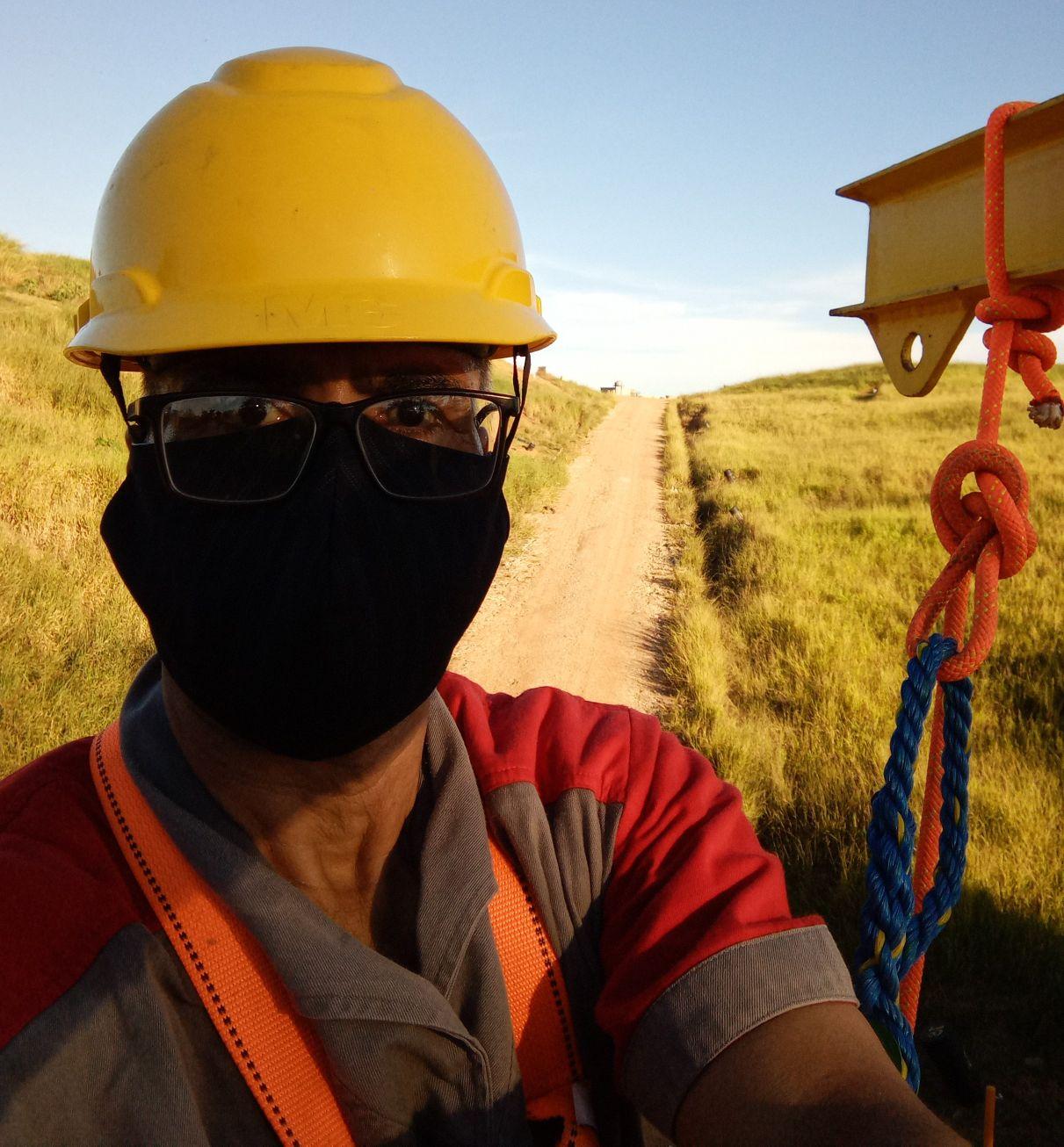 Trabalho em Altura / Substituição de Trava Quedas