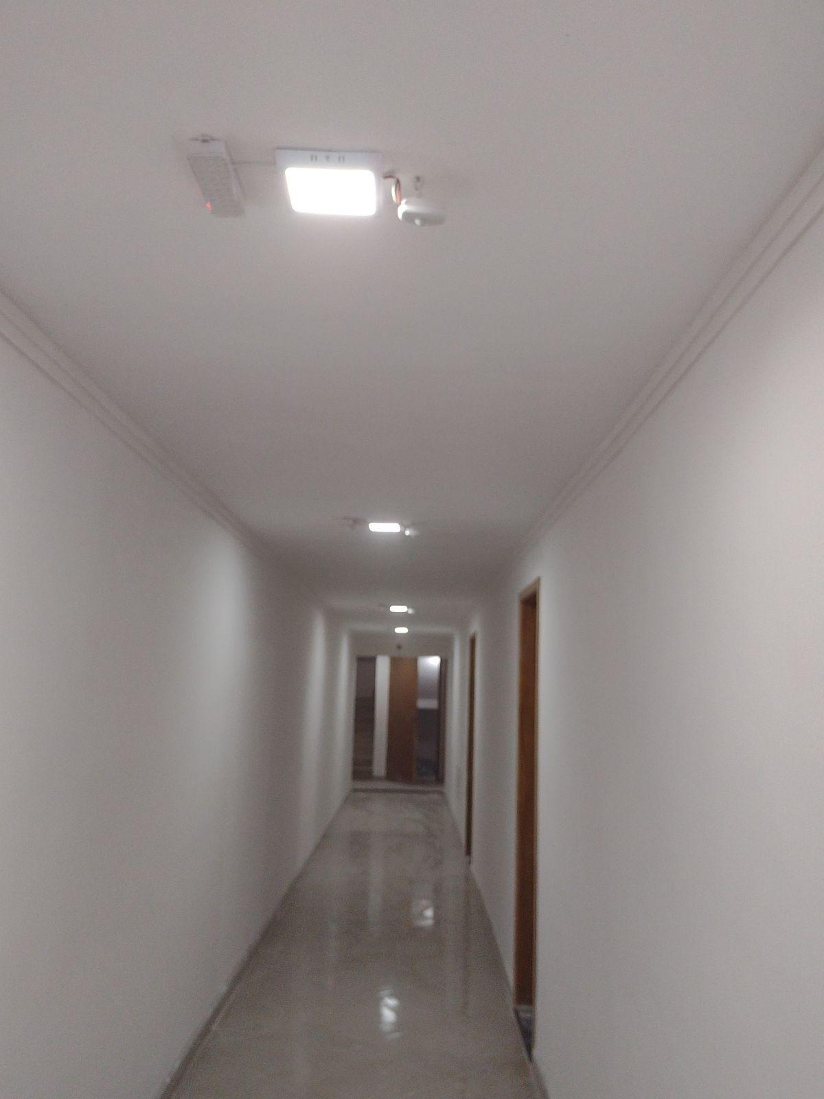 iluminação com sensores