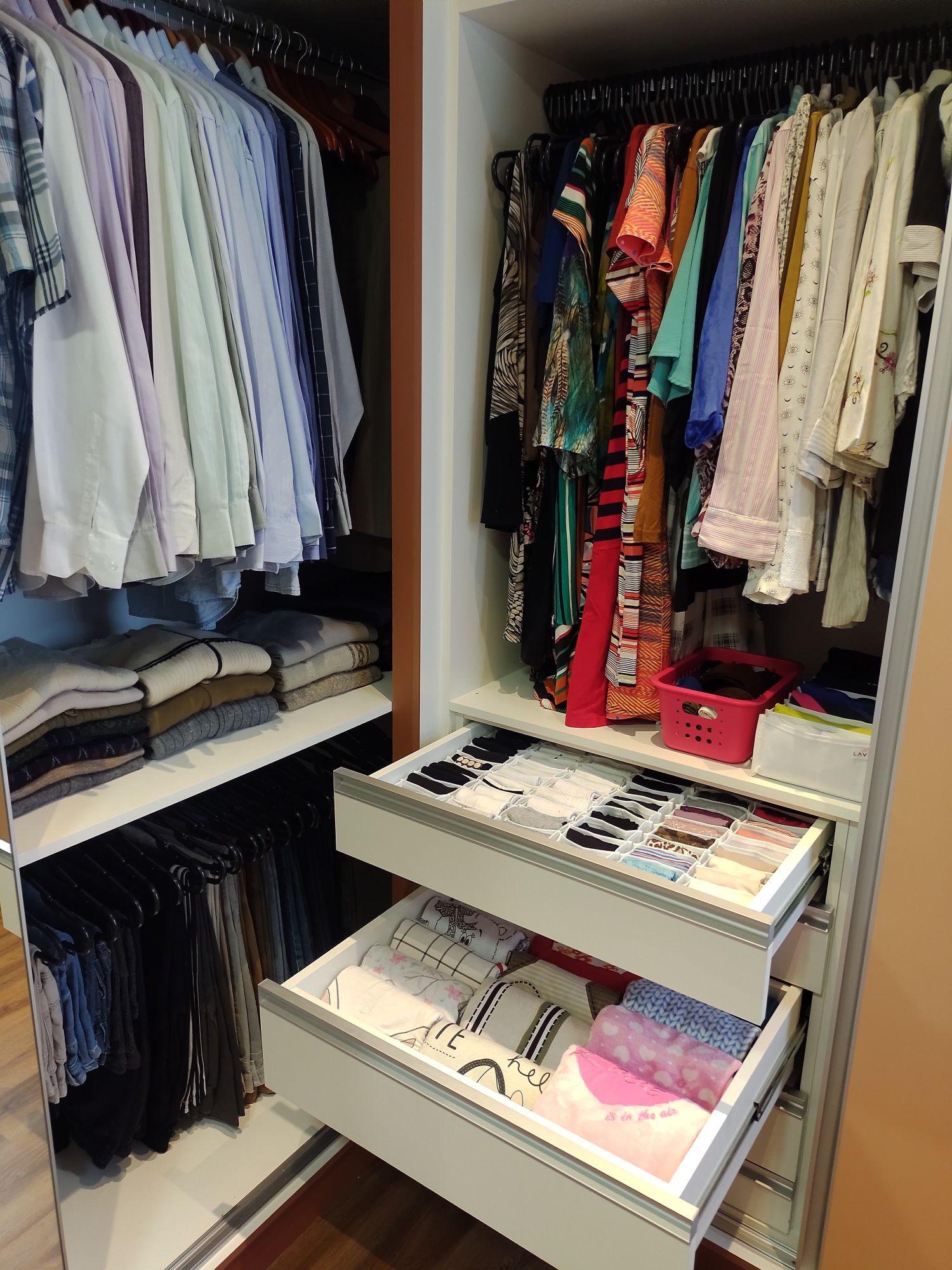 Closet Casal - Organização Residencial
