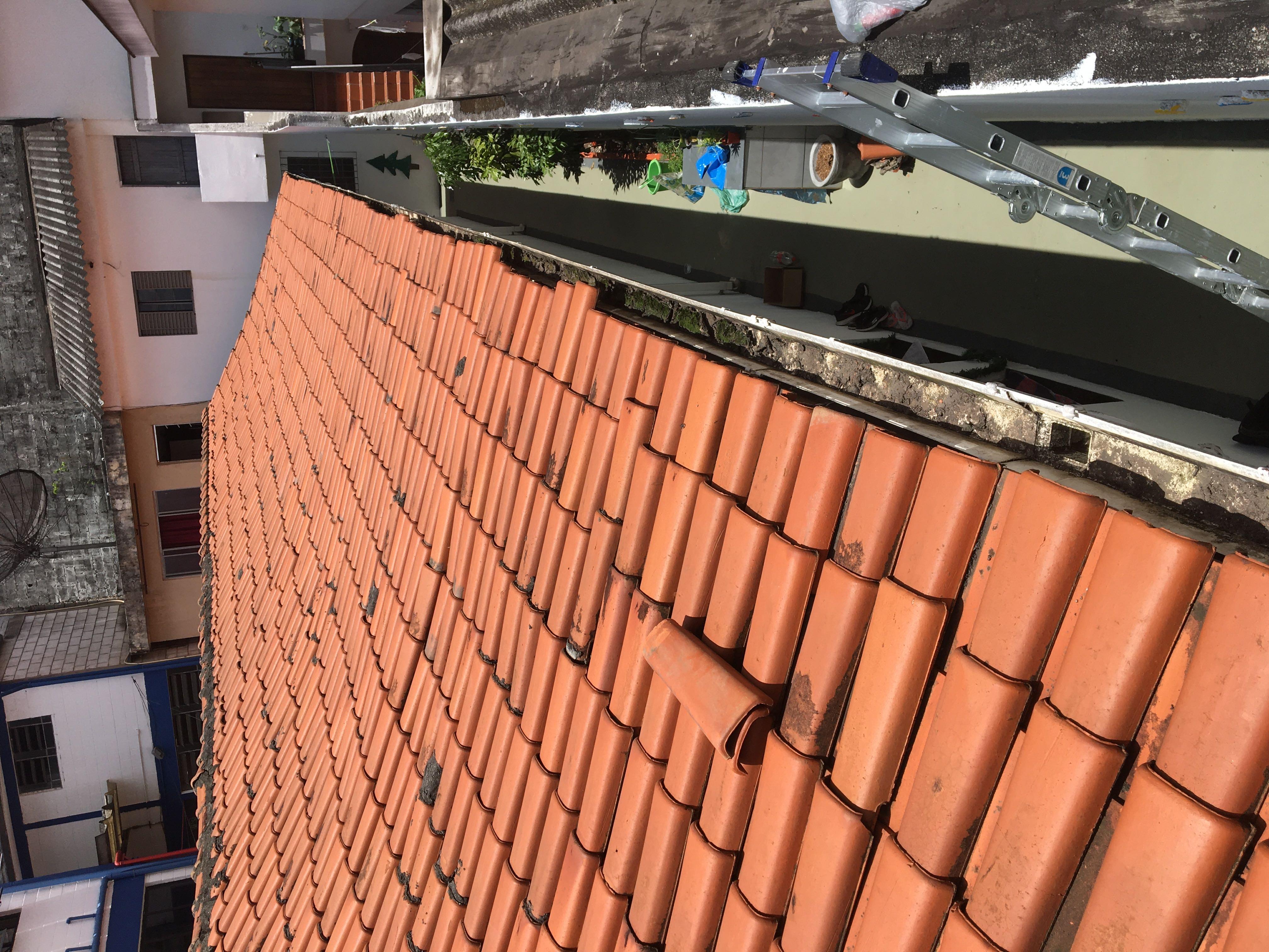 Reparo 👨🏾🔧 nas telhas