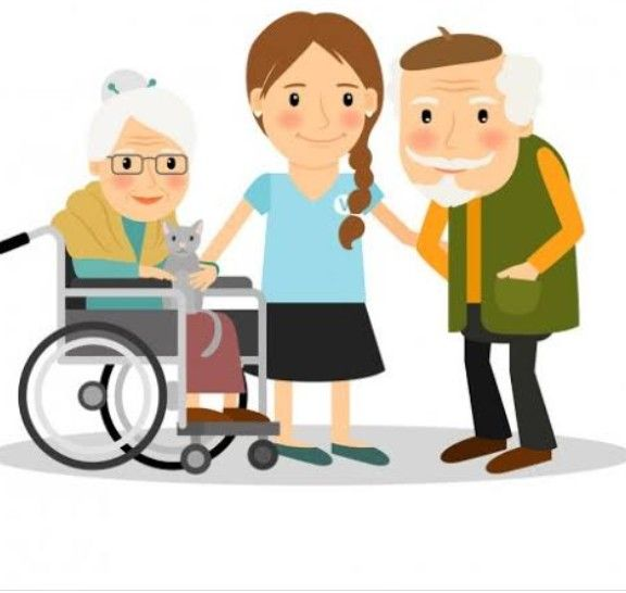 devemos cuida do idoso com amor e carinho