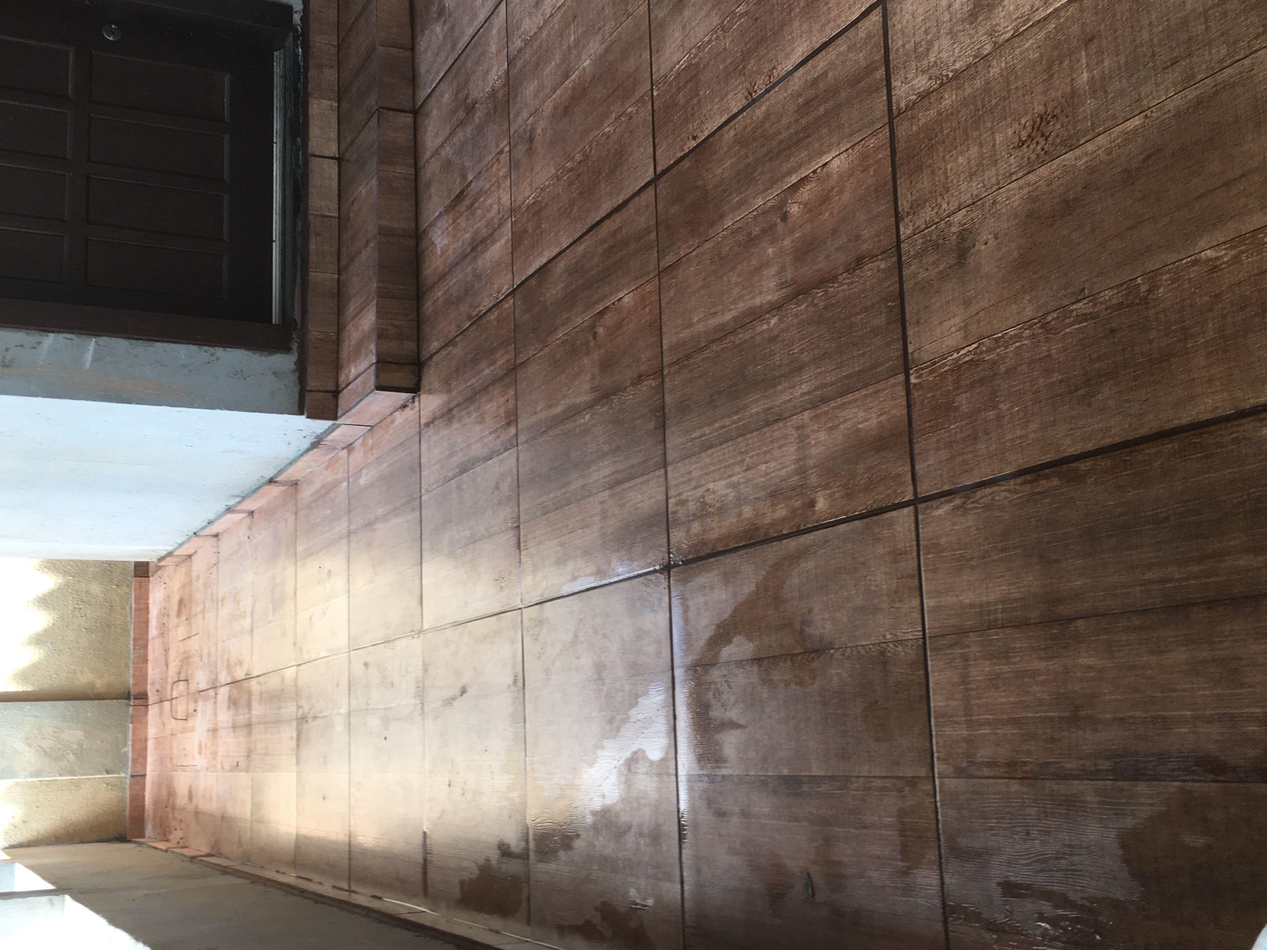 Piso efeito madeira