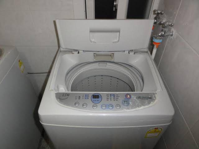 Instalação lavadora