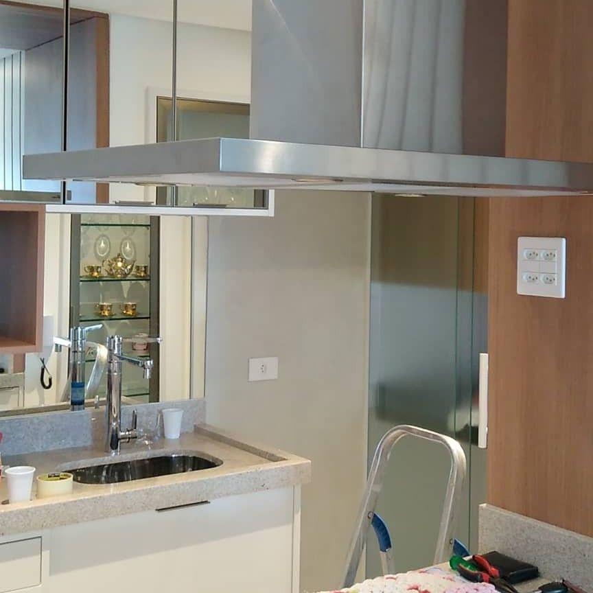 instalação de pia de cozinha