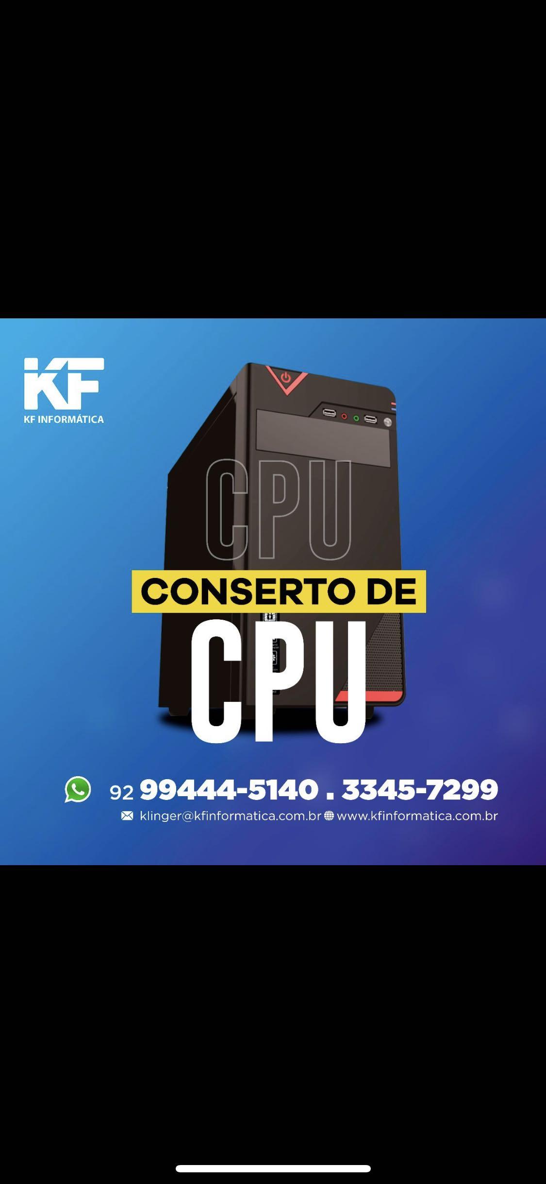 Venda e Conserto de CPU