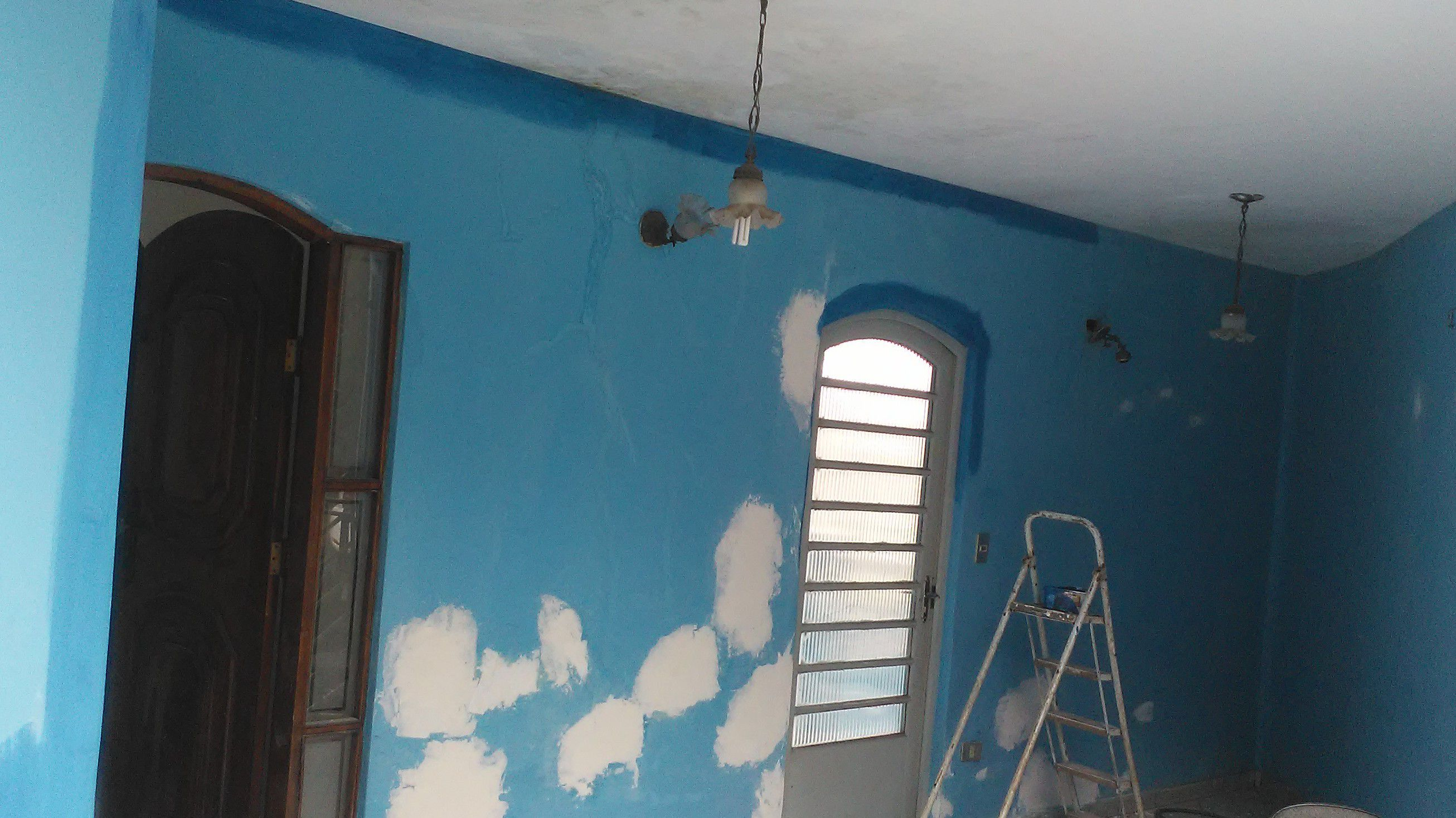 preparação das paredes!