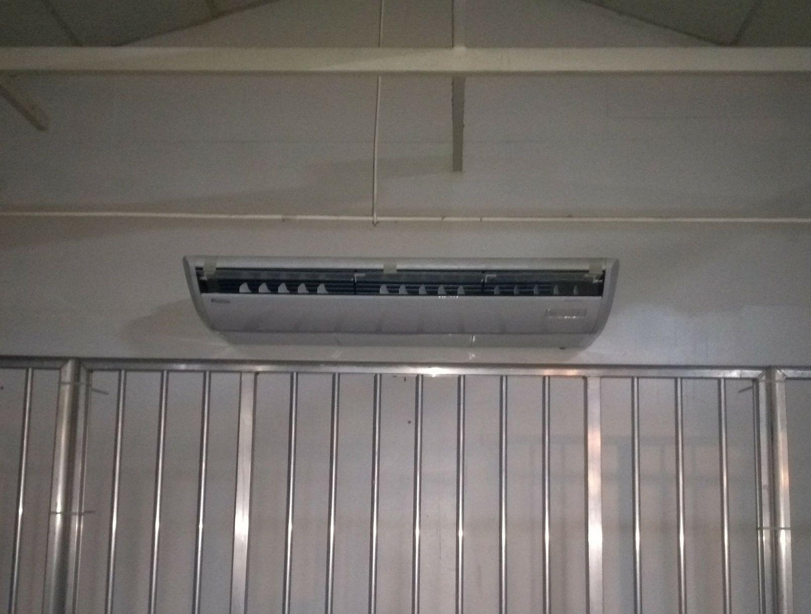 evaporador piso teto