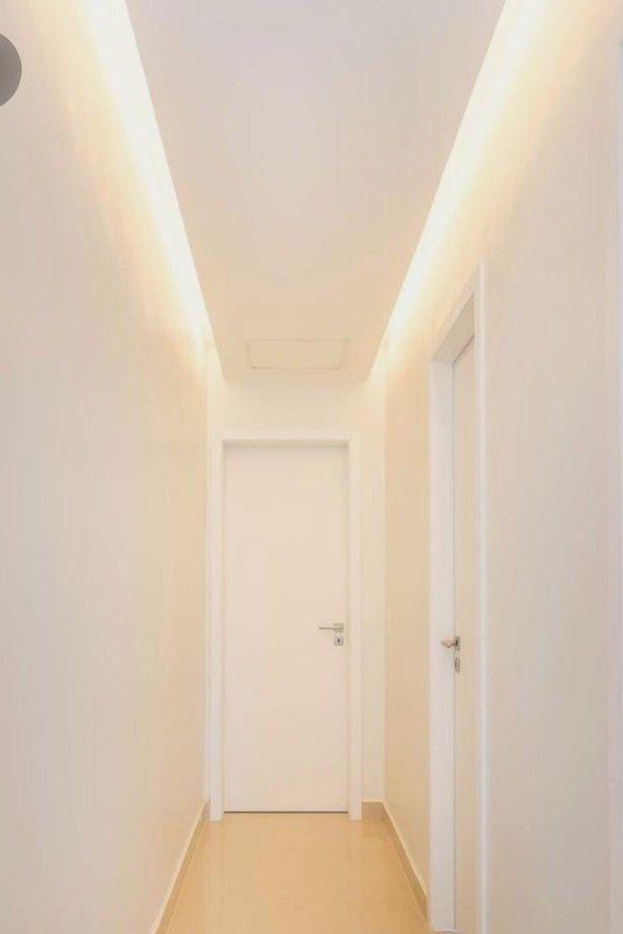 forro de drywall e iluminação.
