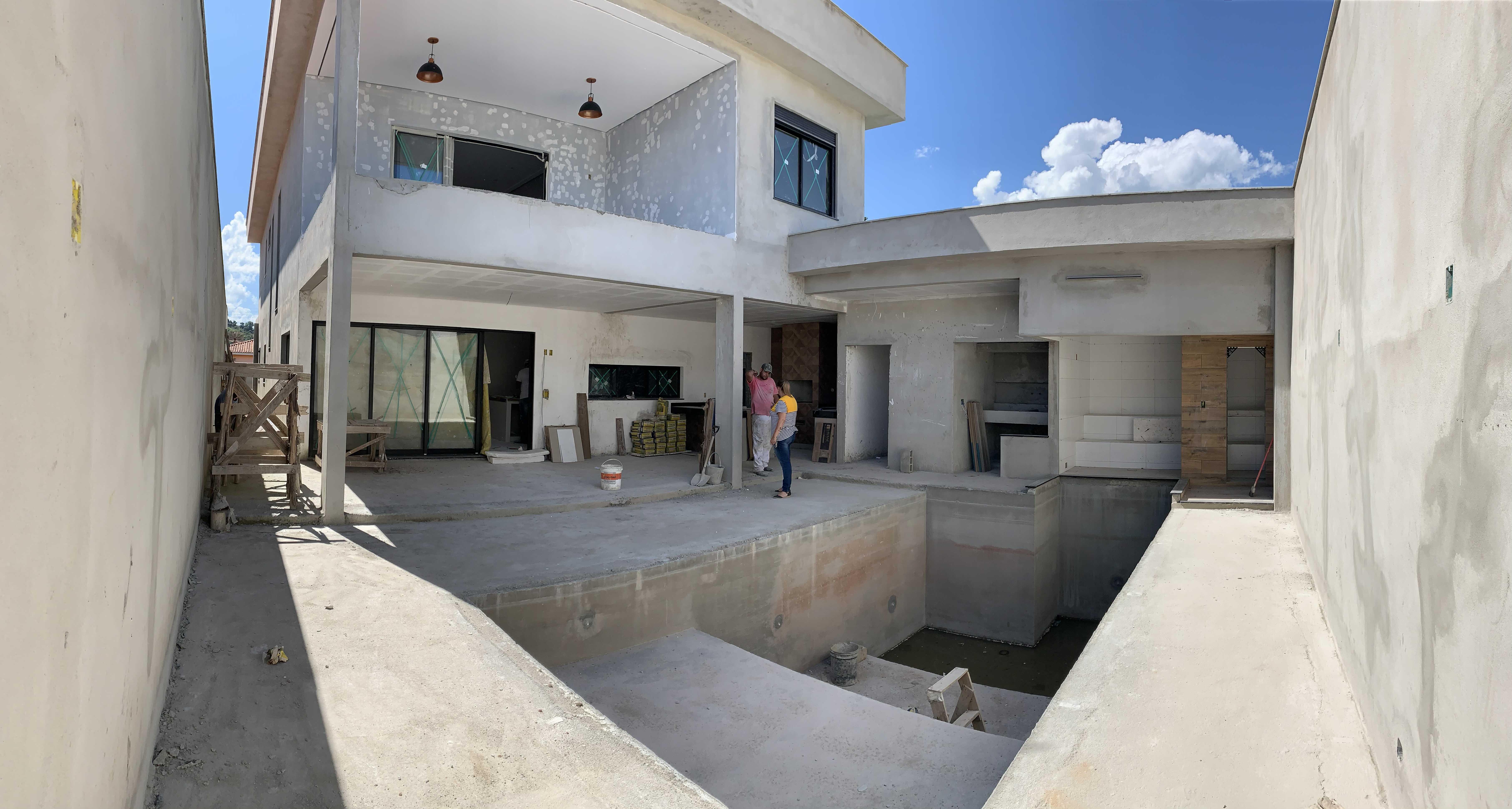 Reforma área externa, residencial.