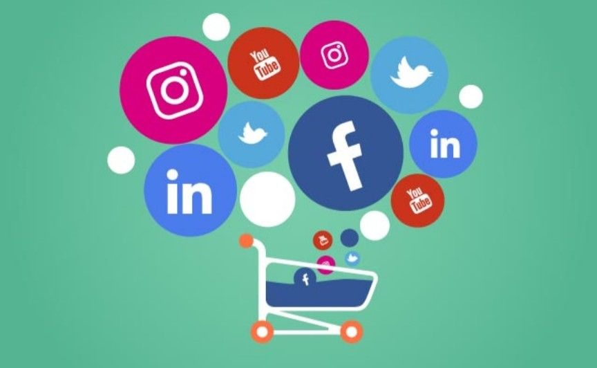 Impulsionamento nas principais redes sociais.