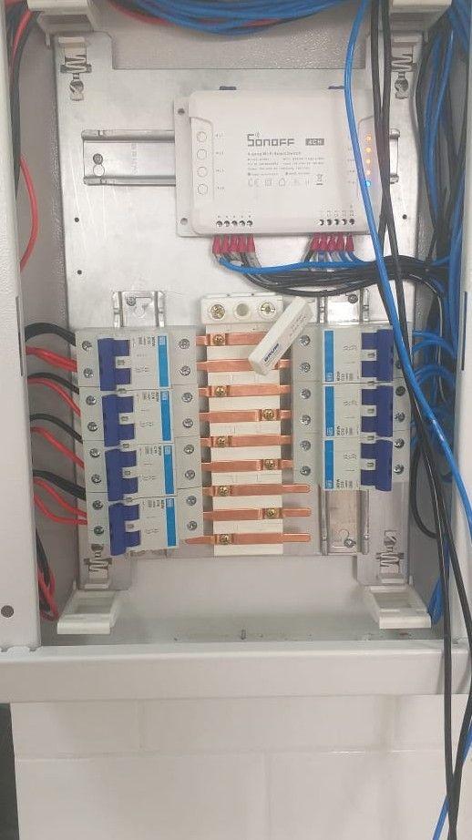 automação residencial comandar as lâmpadas  Wi-Fi