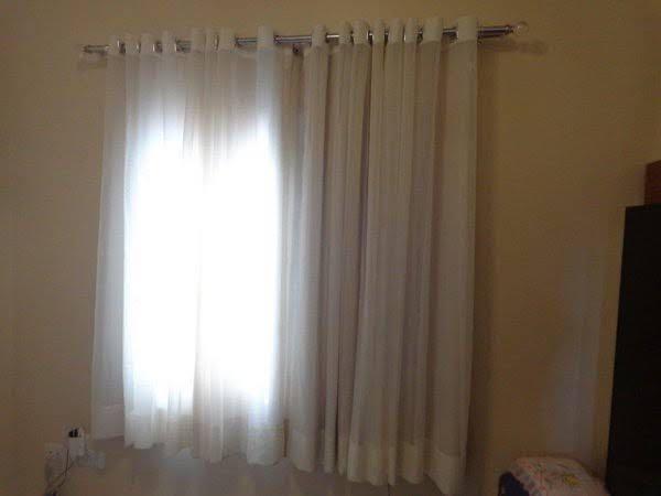 Instalação de cortina
