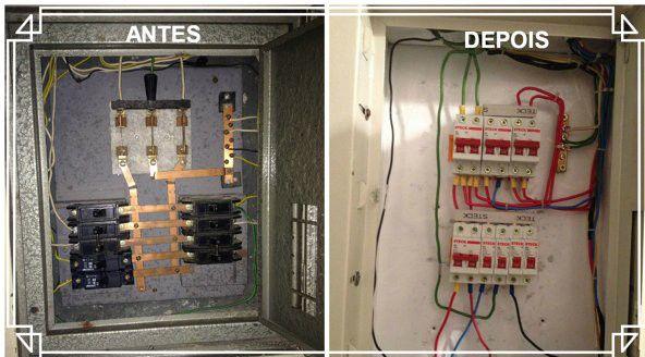renovação eletrica e aproveitamento