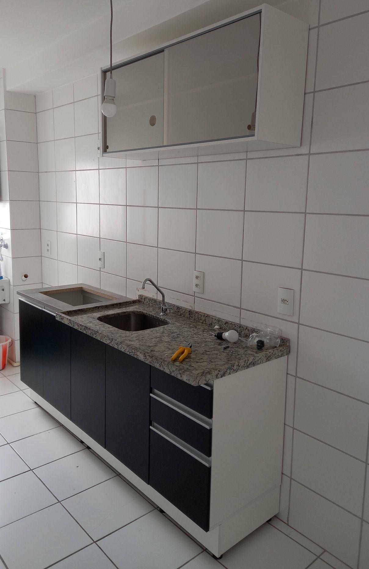 montagem e instalação  de Cuba,torneira  e cooktop