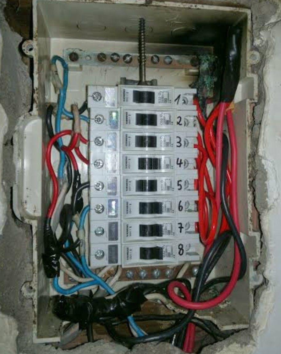 problema na estação eletrica