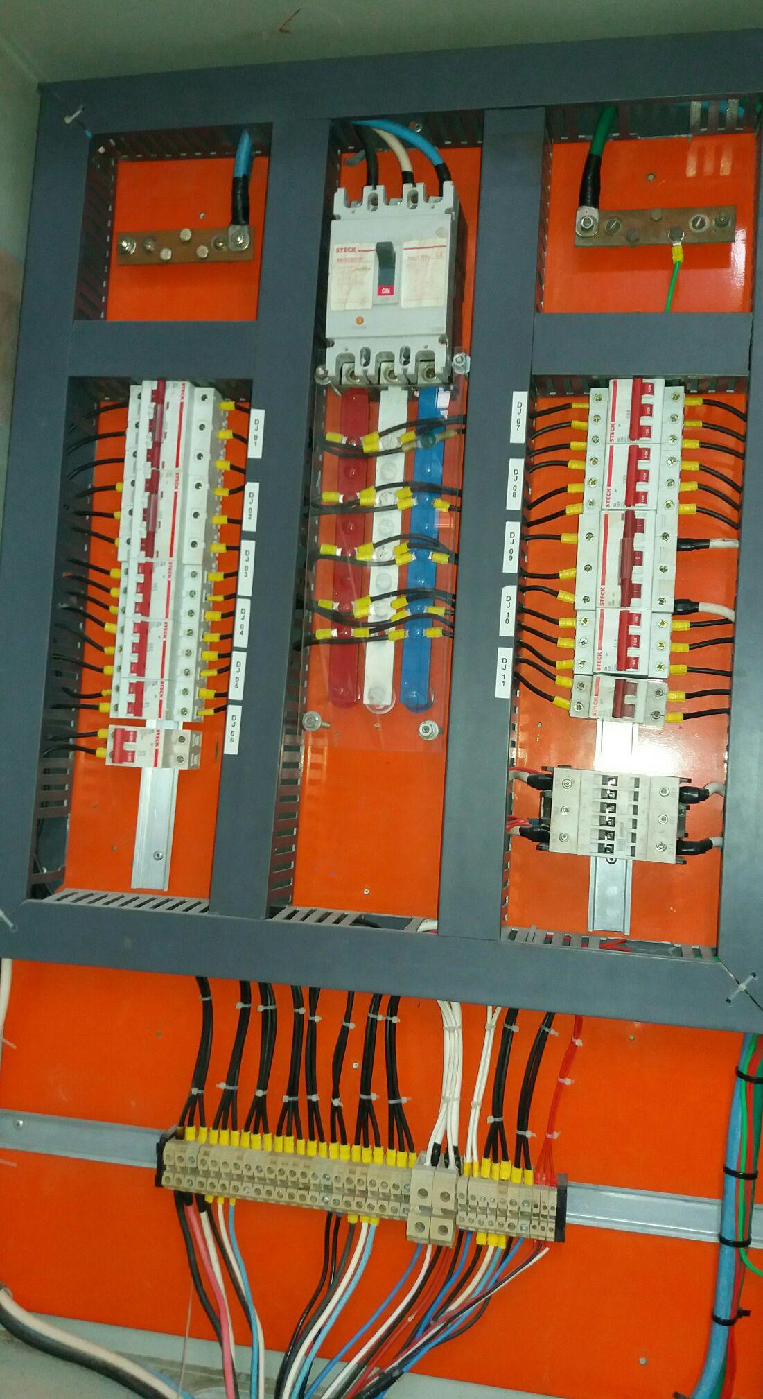 quadro de disjuntores 220 volts