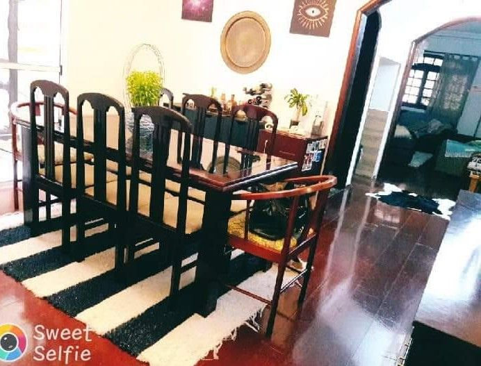 sala de estar limpa