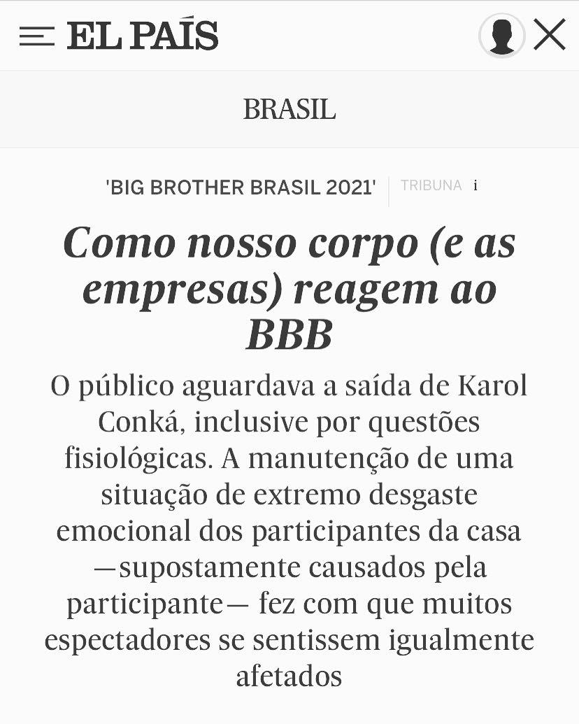 Artigo sobre neuromarketing para o jornal El Pais