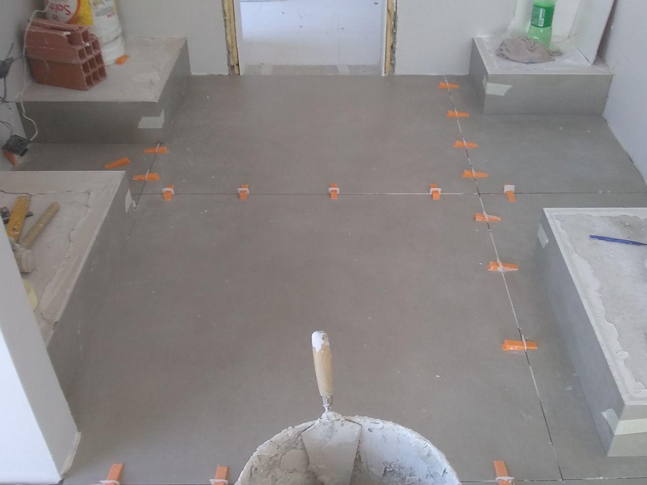 piso de 120/120 parte da cozinha em Moema