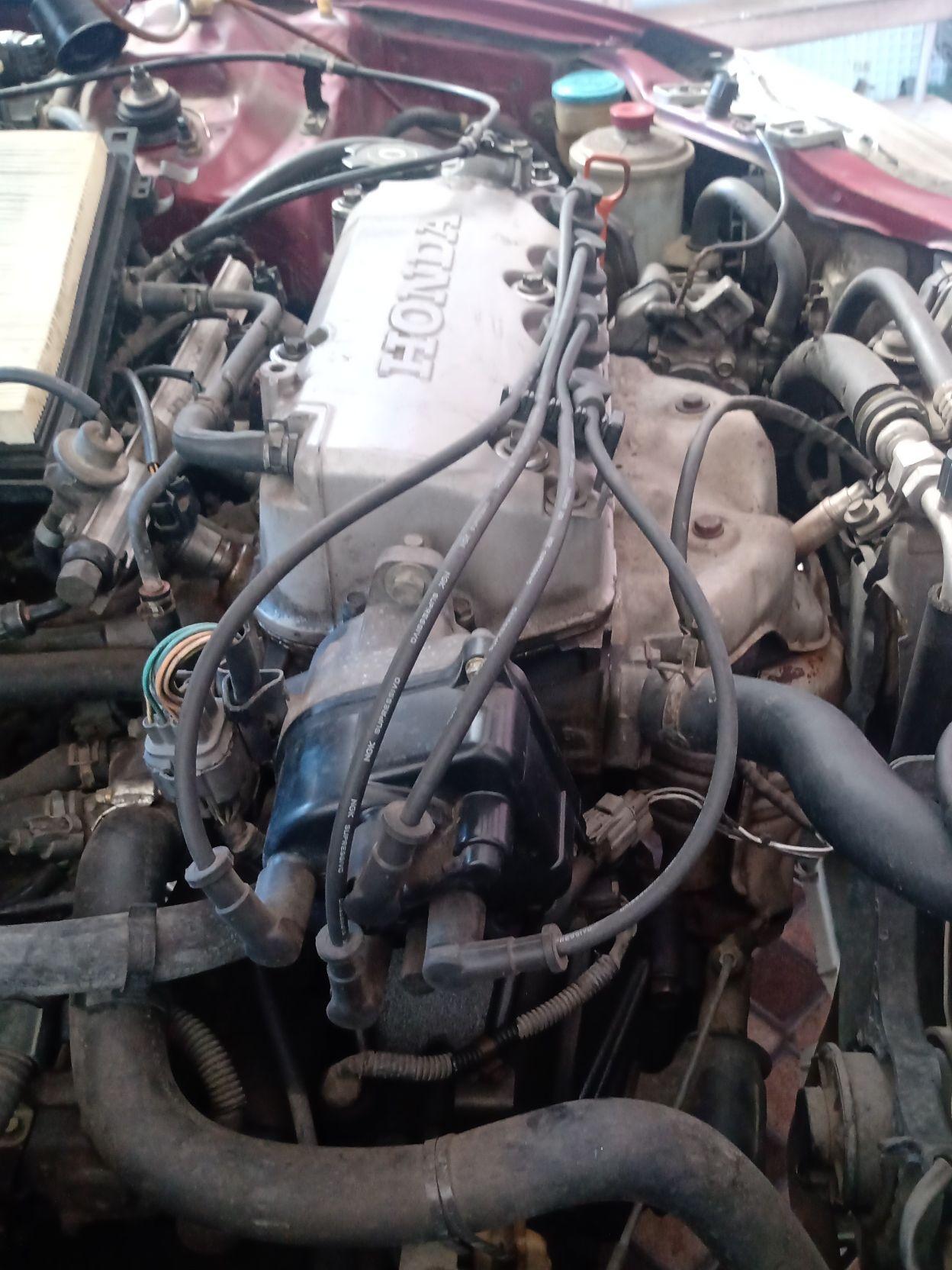ajuste do motor Honda