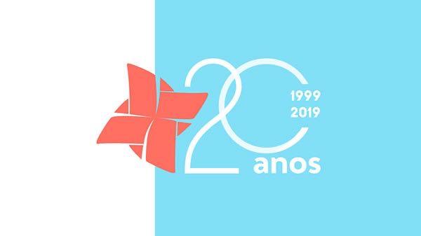 Identidade visual de evento - Cria UFMG 20 anos