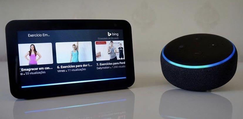 Alexa para comandos por Voz