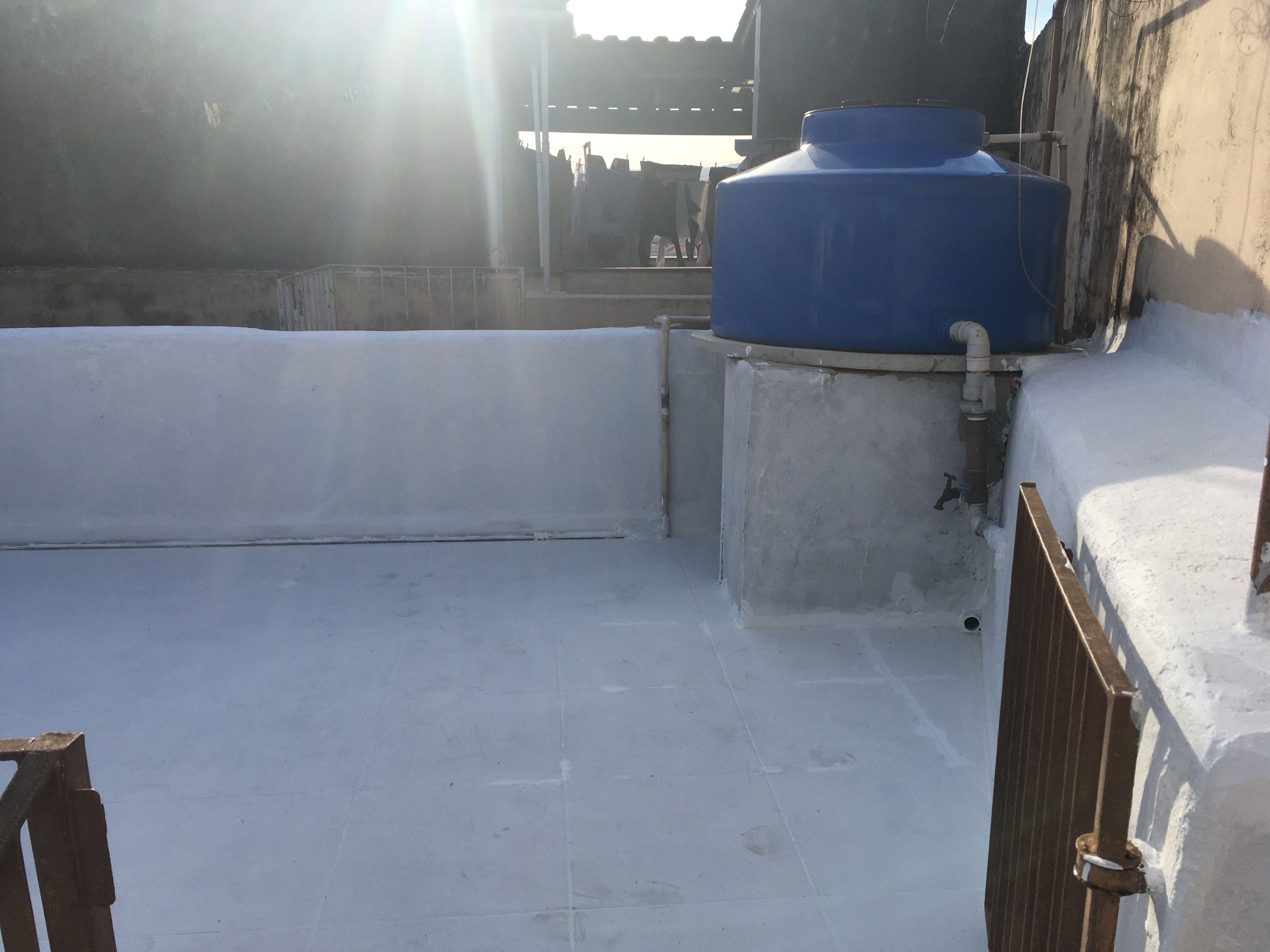 Instação de caixa-d'água