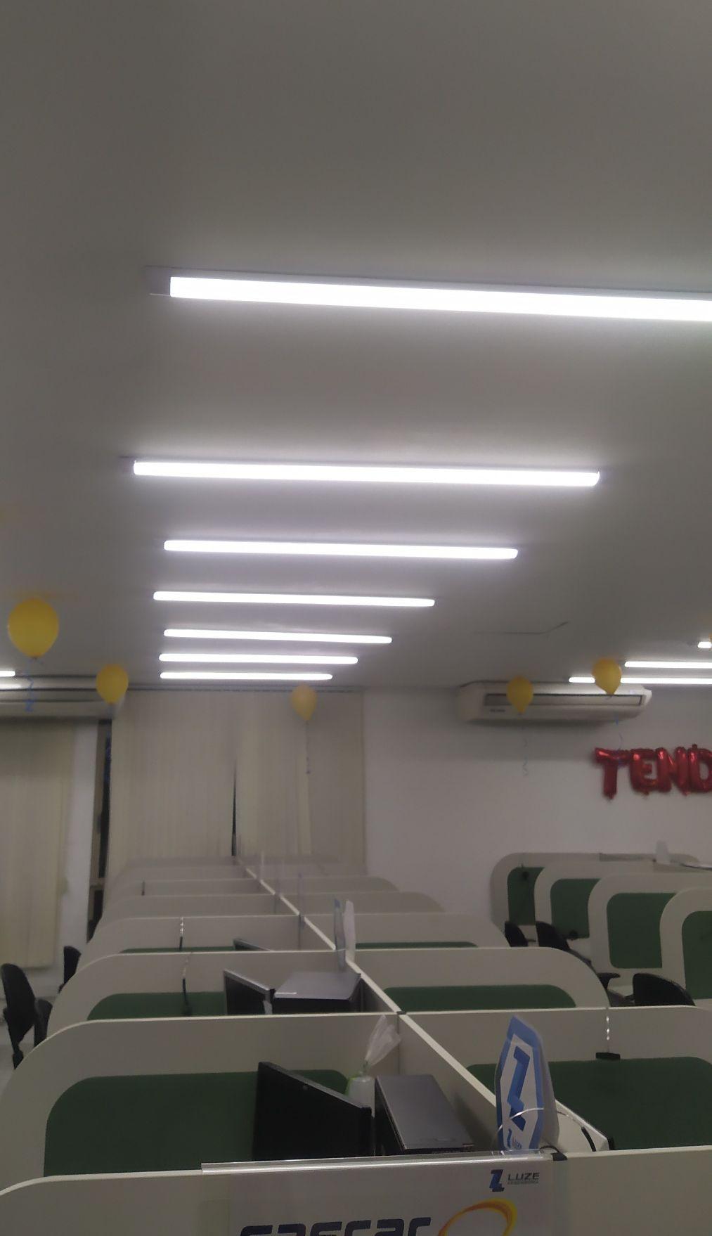 instalação e troca de lâmpada/luminária