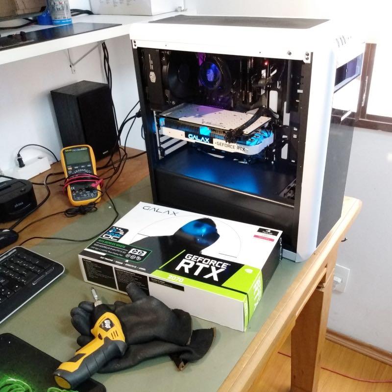 Montagem e manutenção PC Game