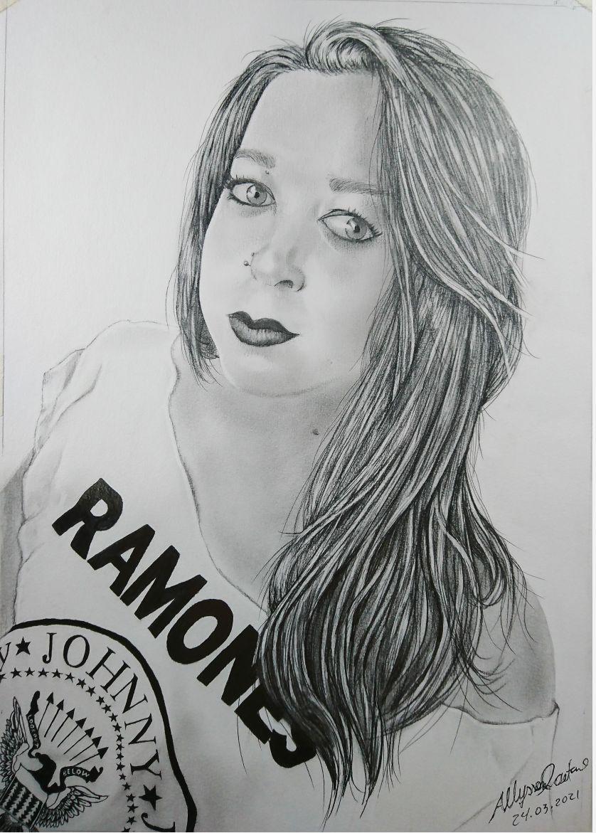 Desenho realista (retrato)