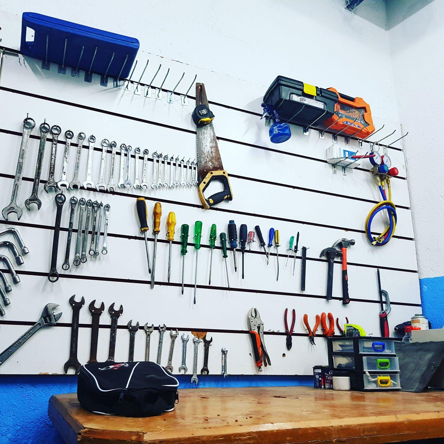 ferramentas em ordens. 🙏