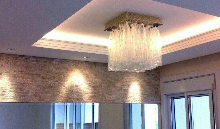 instalação de luminárias lustres e leds