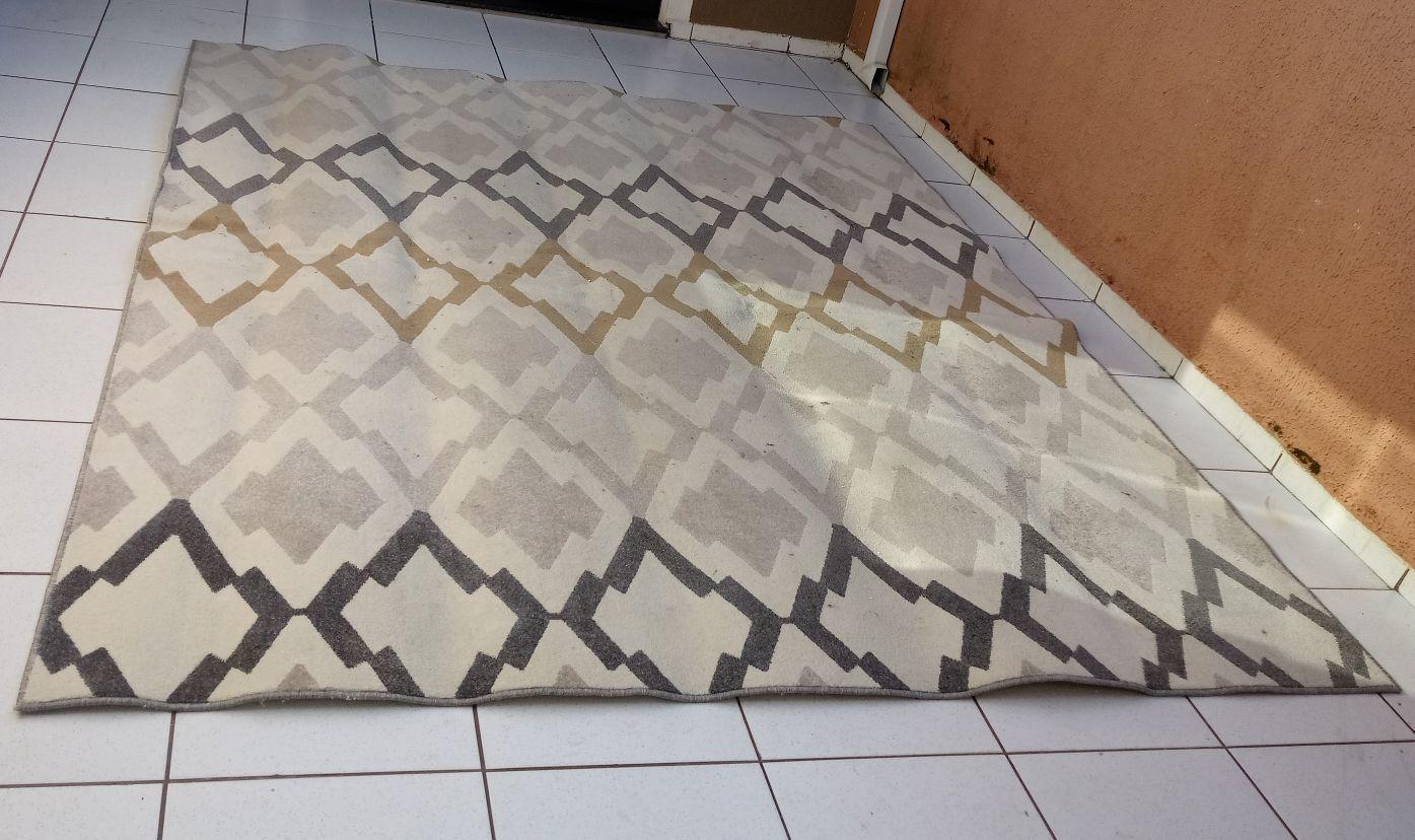 tapete higienizado
