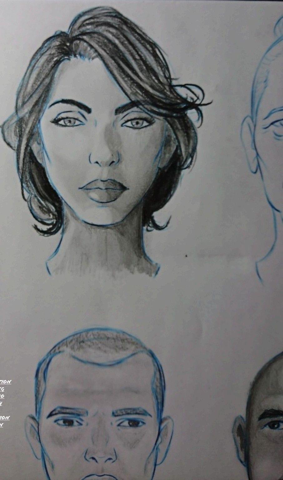 Estudo de realismo, com aplicação de luz e sombra.