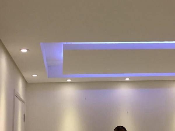 Spots e LEDS instalados