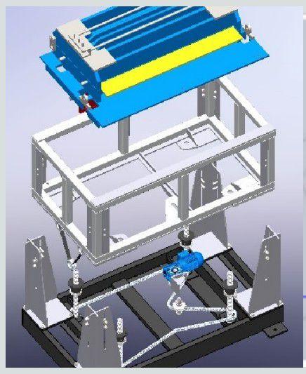 Dimensionamento eletromec. e det. construção Máqui
