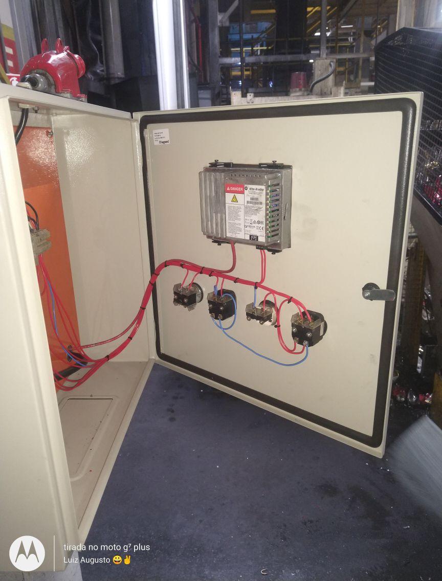 Reforma de painel elétrico
