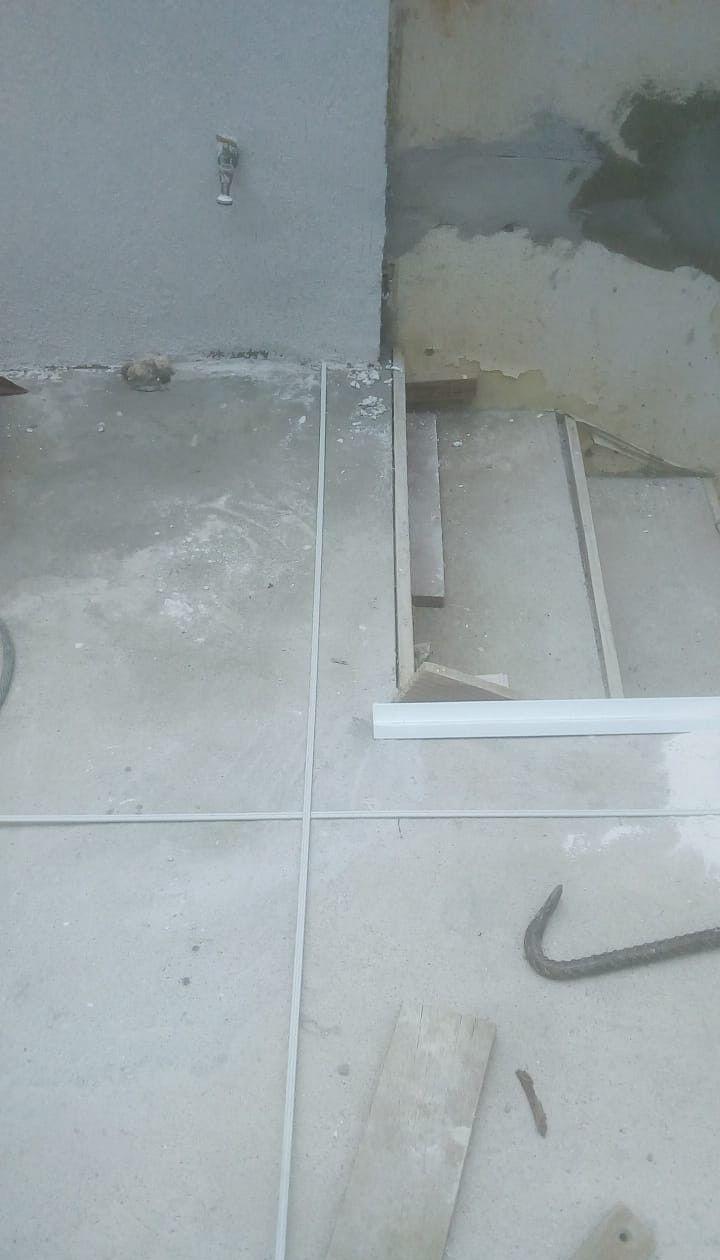 nivelamento do piso