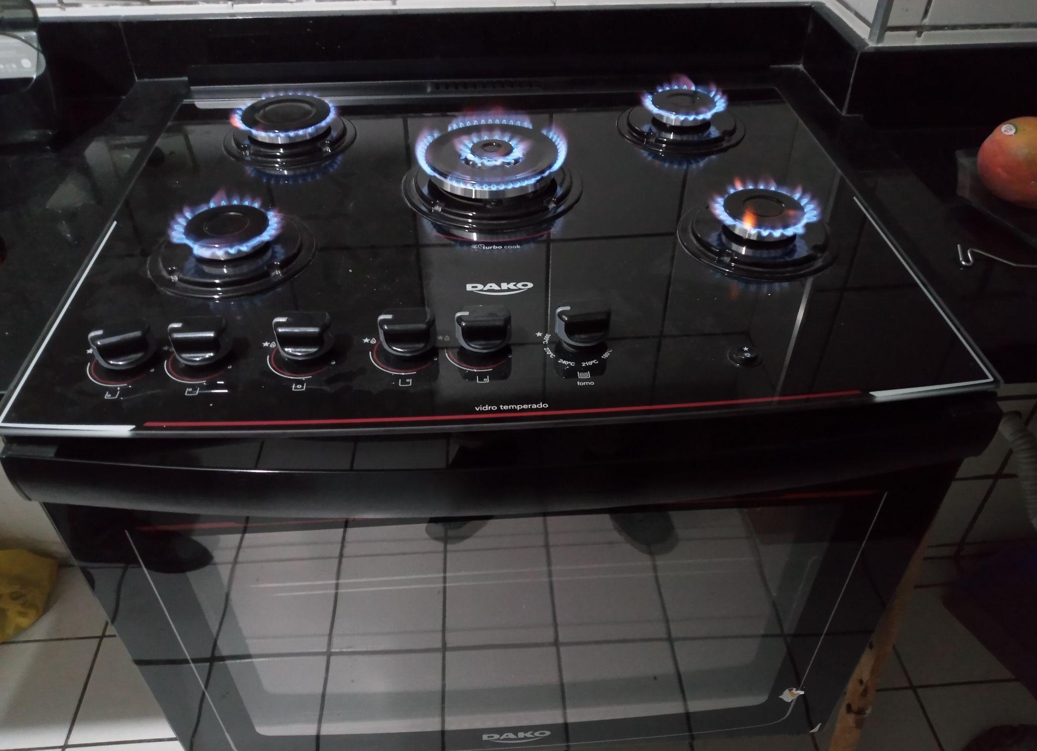 conversão cooktop gás encanado