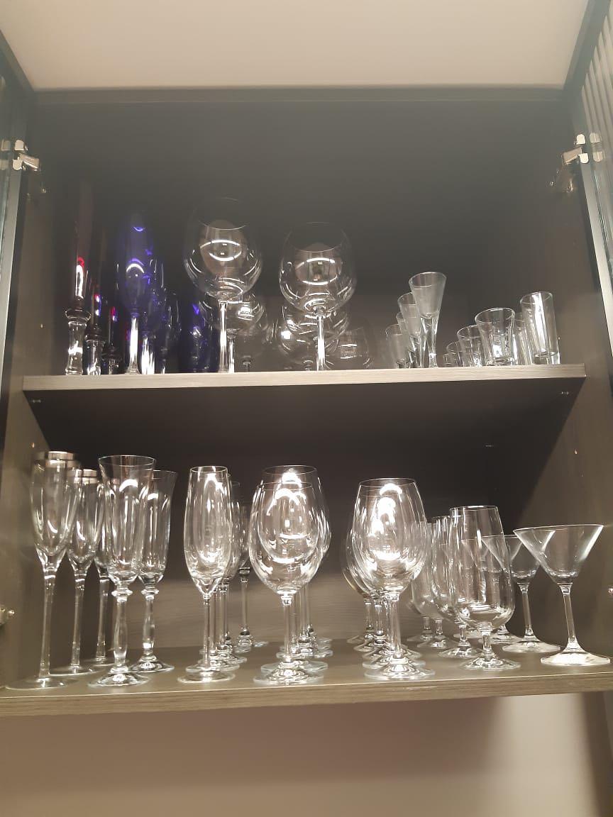 Organização Cozinha taças