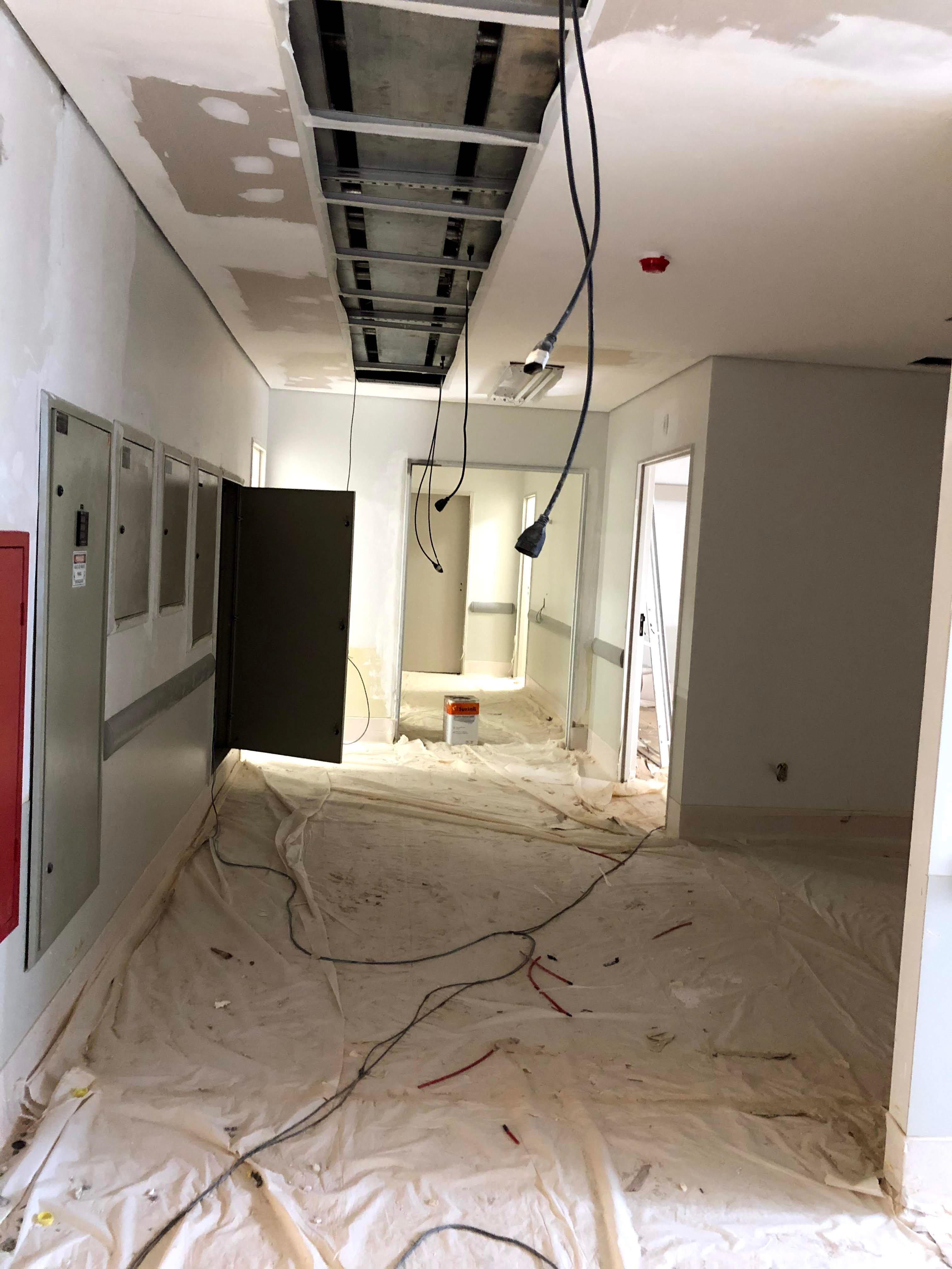 Pintura hospital Unimed