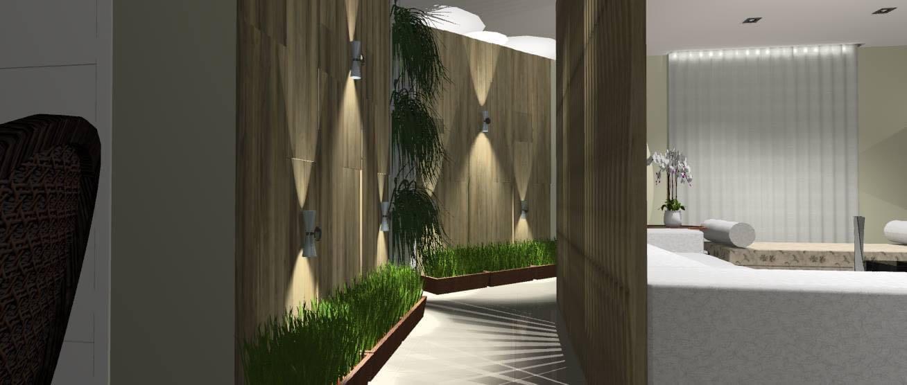 Painéis e divisorias projeto living