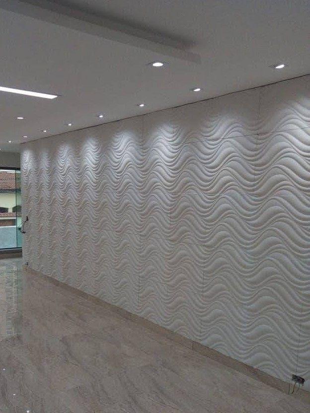 parede 3d ... sancas ... porcelanato