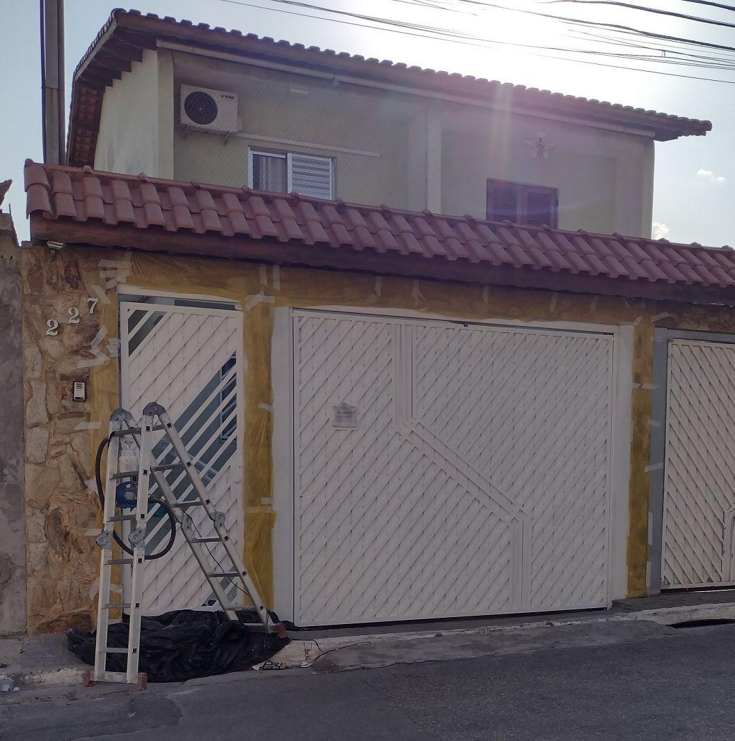 Pintura de Portões residências.