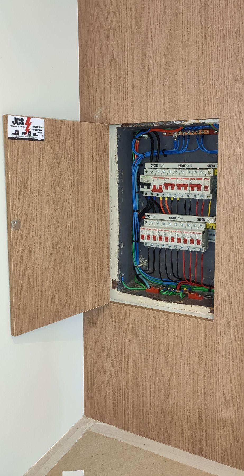 Retrofit, substituição de disjuntores e circuitos