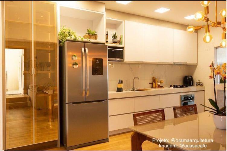 Projeto de reforma cozinha residencial