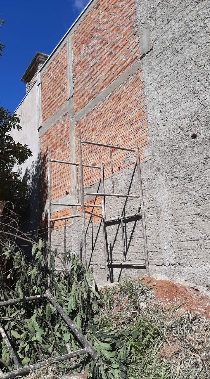 muro e chapisco