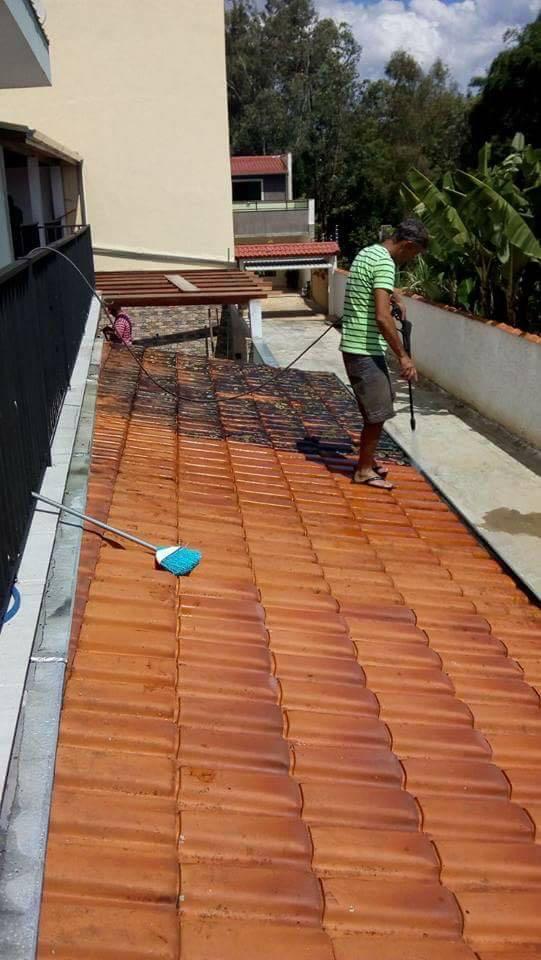 Lavador de telhados