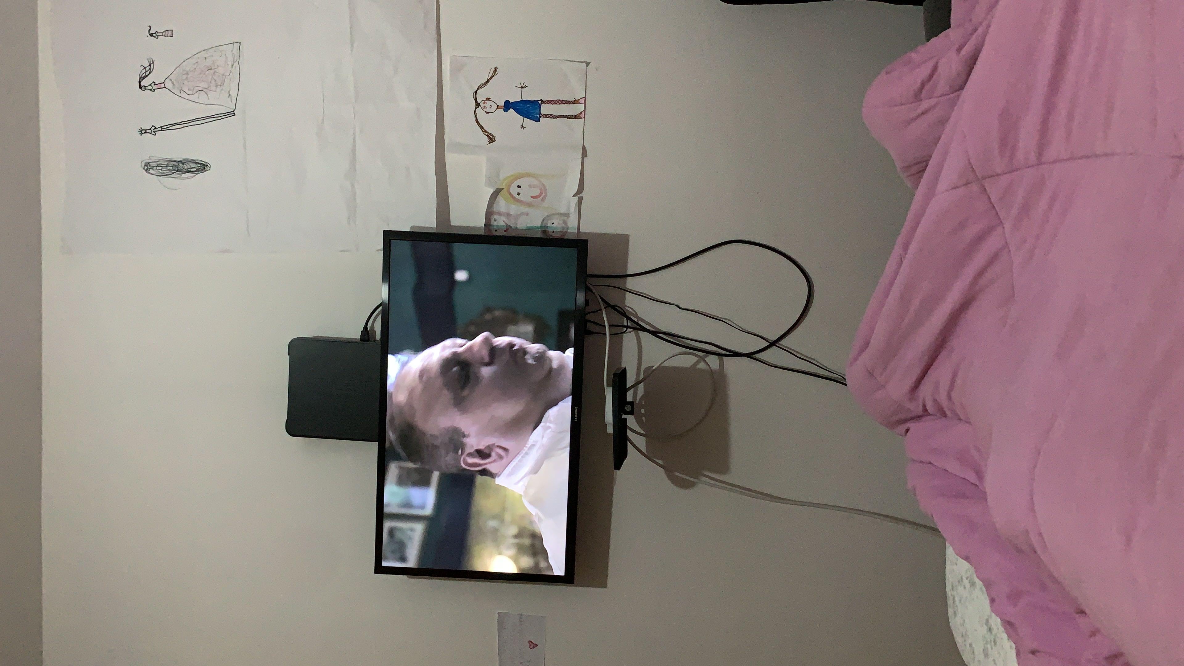 Instalação de televisão enviado por cliente
